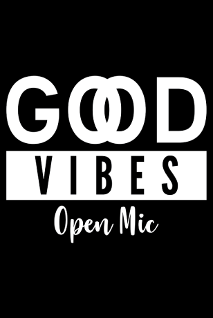 Good Vibes Open Mic logo
