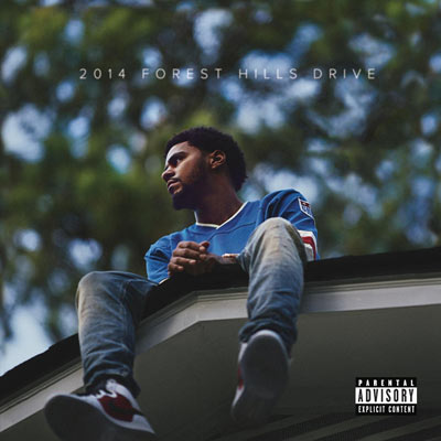 J. Cole 2014 Forest Hills Drive Cover